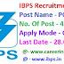 IBPS Recruitment 2019 Apply Online For 4336 MT / PO Jobs