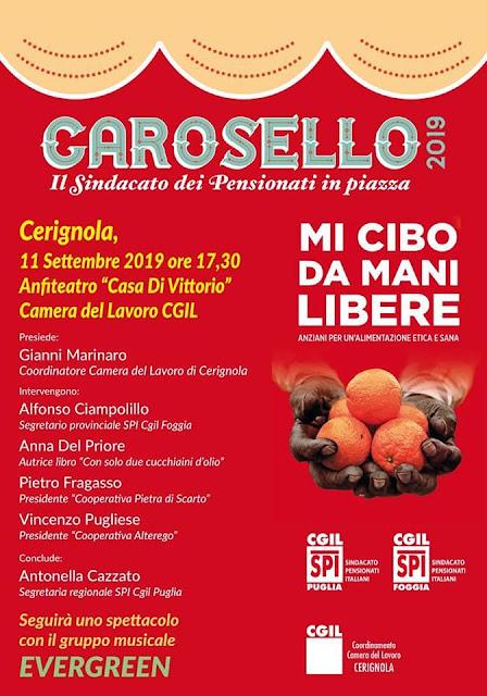 """Cerignola, San Severo e Manfredonia: torna """"Carosello"""" dello Spi Cgil"""
