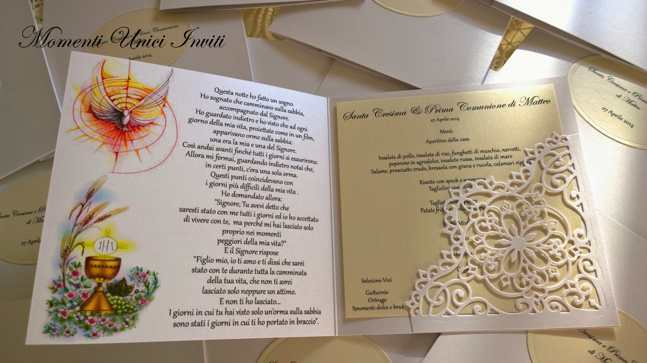 Biglietti Dinvito Prima Comunione Archivi Pagina 2 Di 3