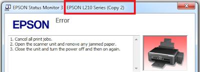 Epson L220 Paper Jam Error