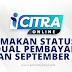 I-CITRA : Semakan Status & Jadual Pembayaran Bulan September 2021