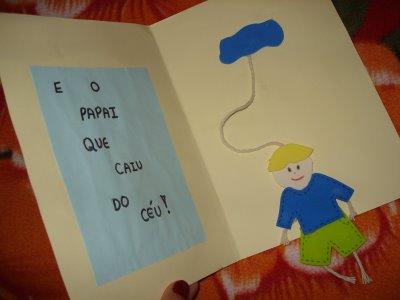 CANTINHO DA TIA DIHÉNE: Cartão para o Dia dos Pais