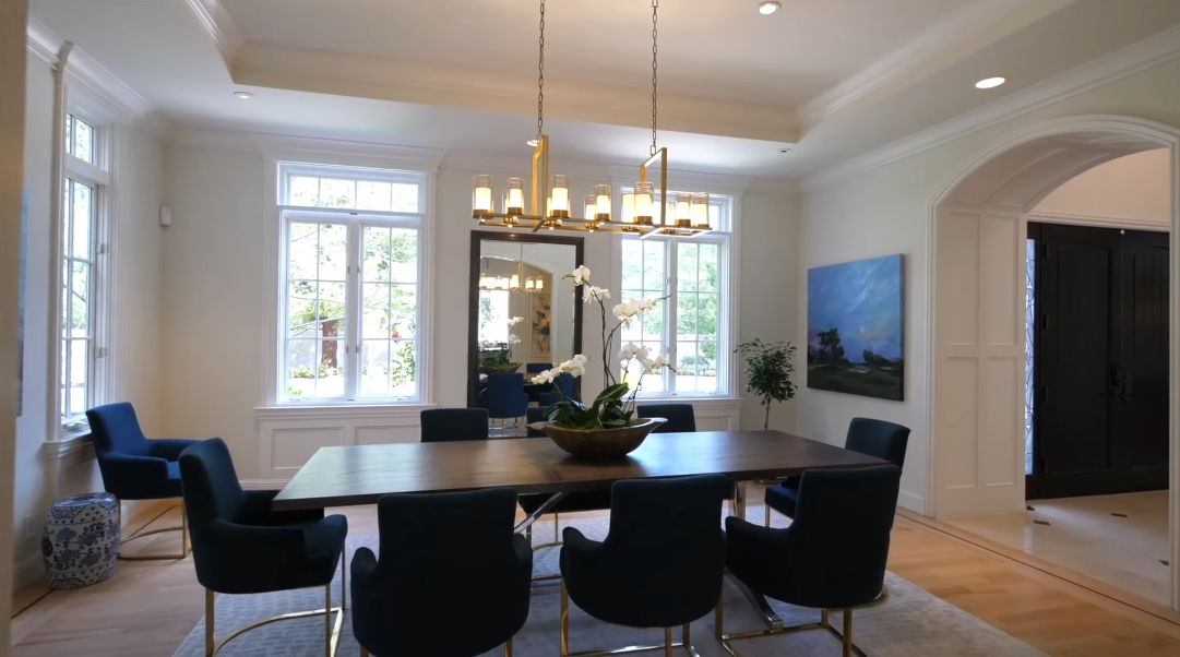 38 Interior Design Photos vs. 285 Catalpa Dr, Atherton, CA Luxury Mansion Tour