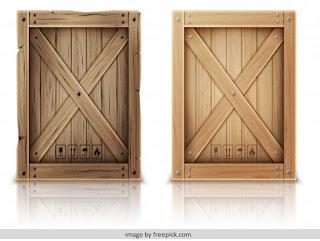 Kotak kayu lapis (plywood)