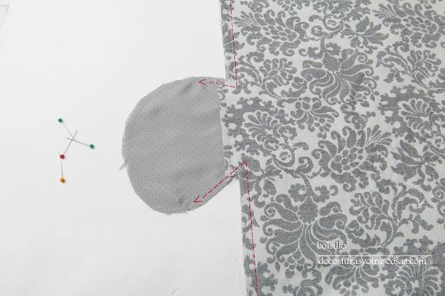 aprende a coser este bolsillo original
