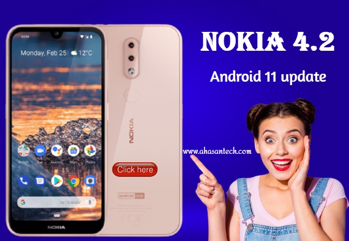 Android 11 update  Nokia 4.2