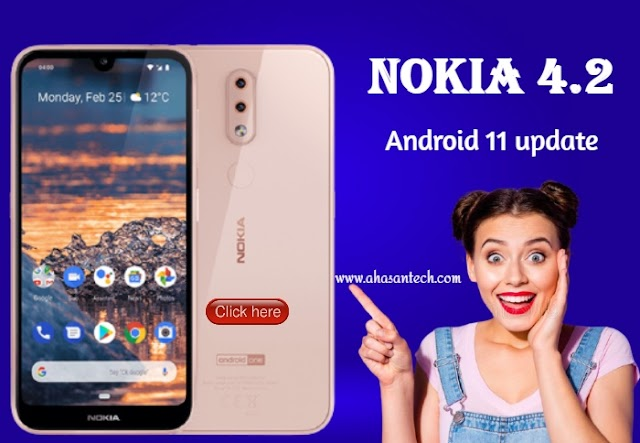 Android 11 update with a bunch of new features for Nokia 4.2 users.