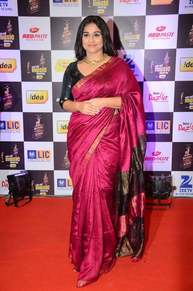 Vidya Balan At Mirchi Music Awards