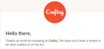 Craftsy review prompt