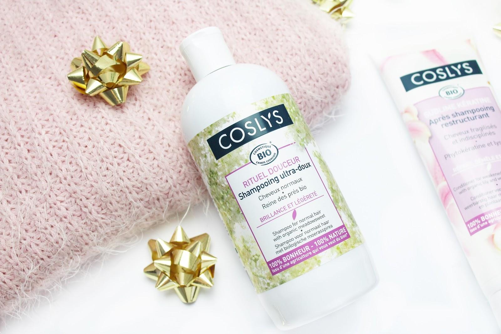 Coslys, Delikatny szampon do częstego stosowania oraz Odżywka naprawcza z keratyną do włosów osłabionych i zniszczonych