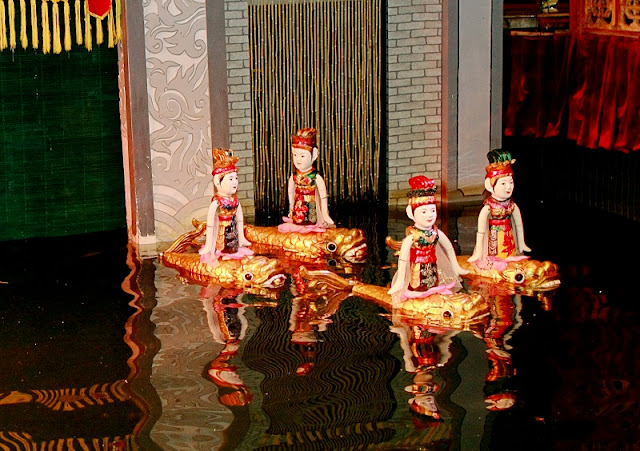 The history of Vietnamese Water Puppetry art 2