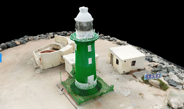 South Mole Lighthouse Fremantle Drone Scan using Drone Deploy - Image 2
