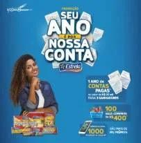"""Cadastrar Promoção Estrela 2019 Paga Sua Contas """"Seu Ano É Por Nossa Conta"""""""