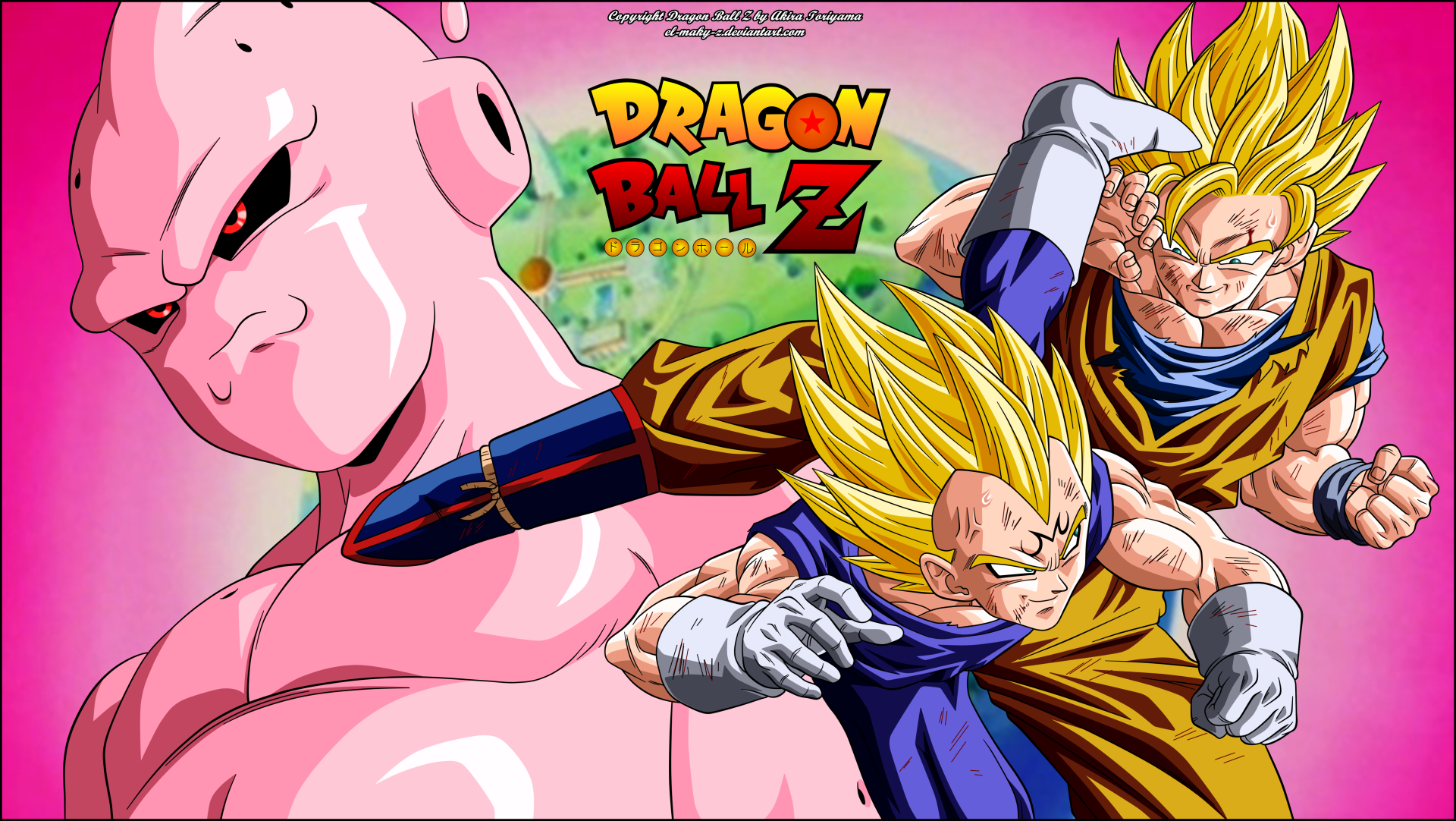 DRAGON BALL Z: Saga de Babidi & Majin Bu (1994) HD 1080P LATINO/INGLES/JAPONES