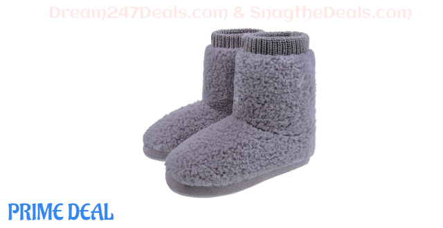 50% OFF  Womens Warm House Ankle Boot Slippers