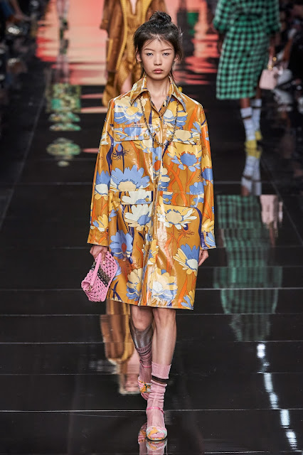 Fendi runway fashion SS20 trends be fashion blogger Kelly Fountain