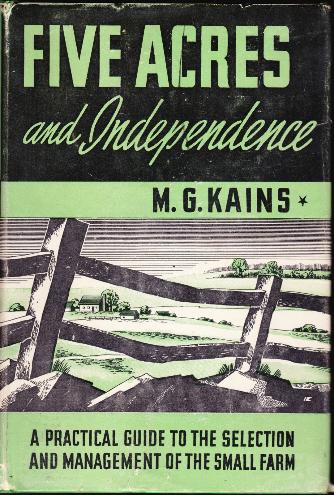 Book Cover Five Acres And Independence