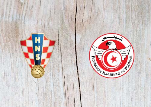 Croatia vs Tunisia -Highlights 11 June 2019
