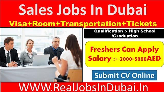 Sales Jobs In Dubai  UAE 2021