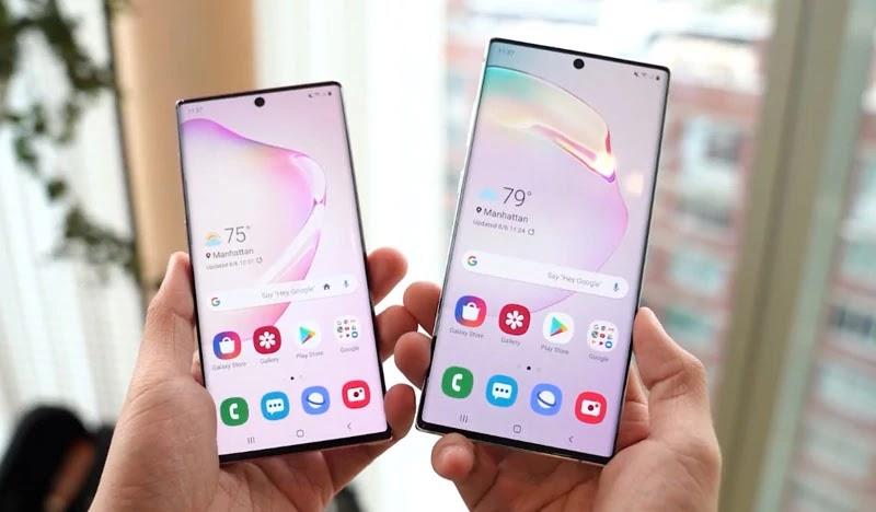Samsung Galaxy Note 10 dan Note 10 Plus