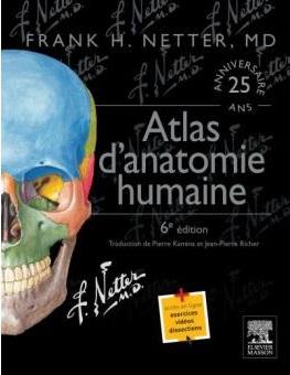 Atlas d'anatomie humaine 6éme édition Livre de Frank H. Netter pdf