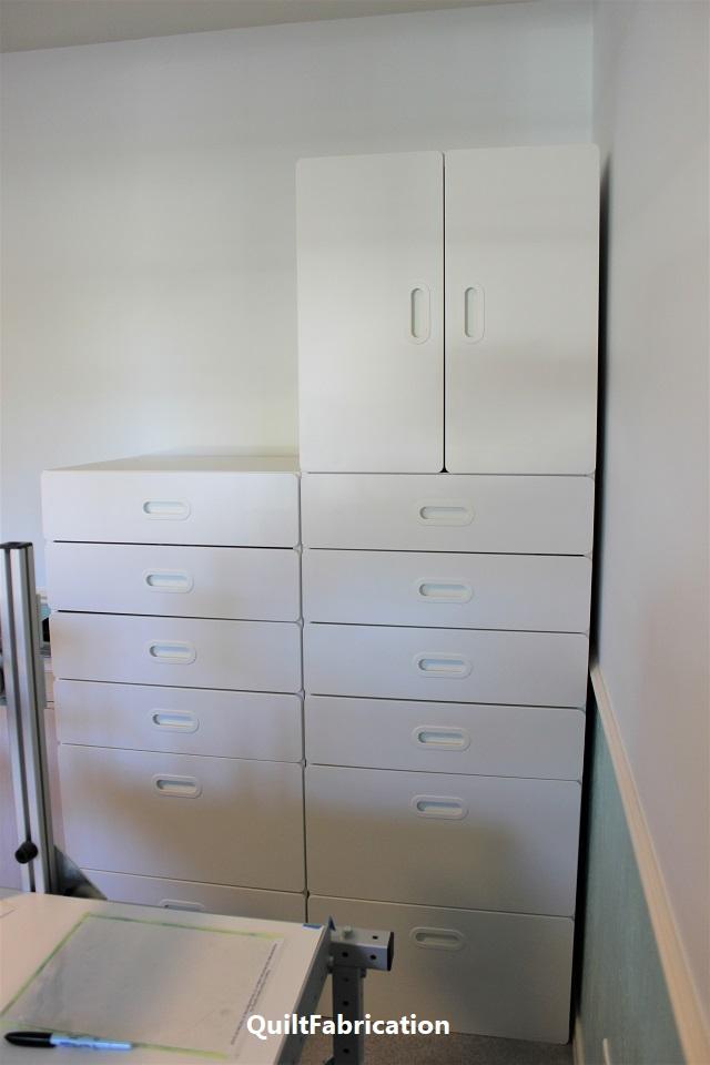 Ikea Stuva system cabinets