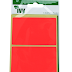Red Rectangle 50x80mm
