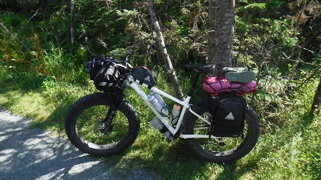 Fatbike Republic Fat Bike U24O Bikepacking Bike Camping Adventure Overlanding Portugal Cove South Newfoundland Norco Bigfoot Gaia Axiom