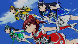 Vividred Operation anime A-1 Pictures