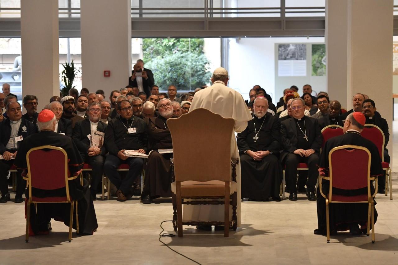Inauguración de 'Anima Mundi' en los Museos Vaticanos