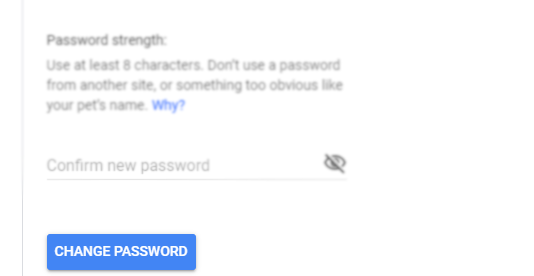How to change Gmail password in PC