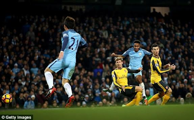 Raheem Sterling gives Arsene Wenger another bad day as Man City beat Arsenal 2-1 (Match feature/analysis)