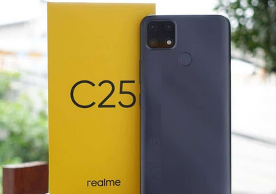 [LENGKAP]  Spesifikasi & harga HP Realme C25: Kamera 48MP, baterai 6.000 mAh, hanya Rp 2 jutaan
