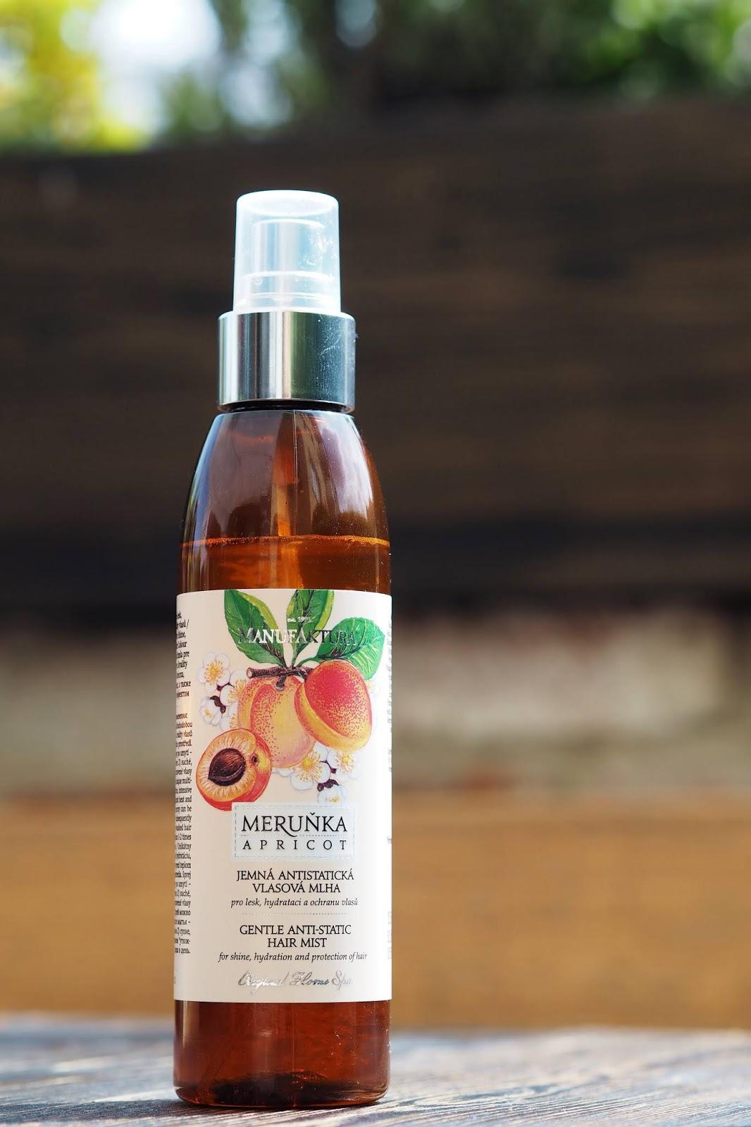 manufaktura Jemná antistatická mlha pro lesk, hydrataci a ochranu barvy a kvality vlasů recenze