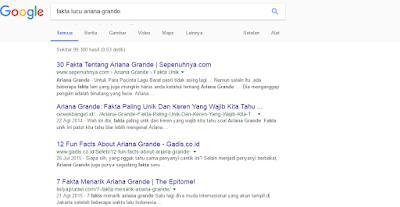 """""""Mengapa Artikel Tidak muncul Di Search Engine?"""""""