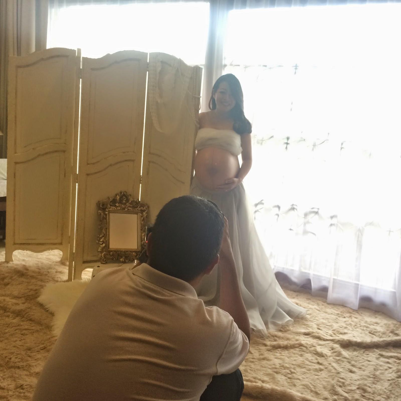VOTO LIFE :: BTS - Maternity Photoshooting Ibu Shanty
