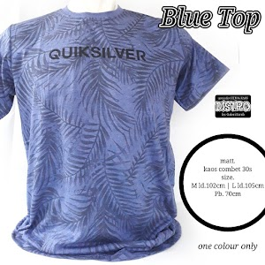 QUICK SILVER BLUE TOP
