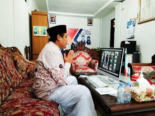 Wabup Pati Open House Halal Bihalal Secara Virtual Di Rumah Dinas