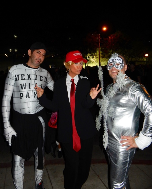 West Hollywood Halloween political costumes