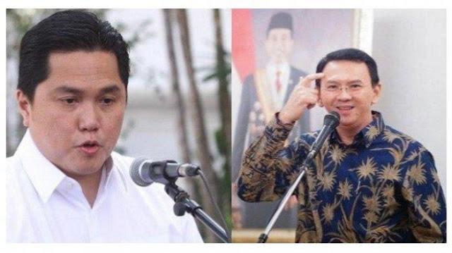 Erick Thohir Diminta Tanggung Jawab, Copot Segera Ahok Sebelum Pertamina Hancur Lebur