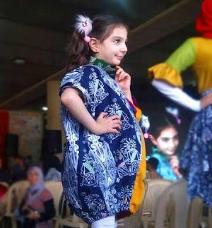 Akeyla Naraya, Batik Bekasi dan Homeschooling