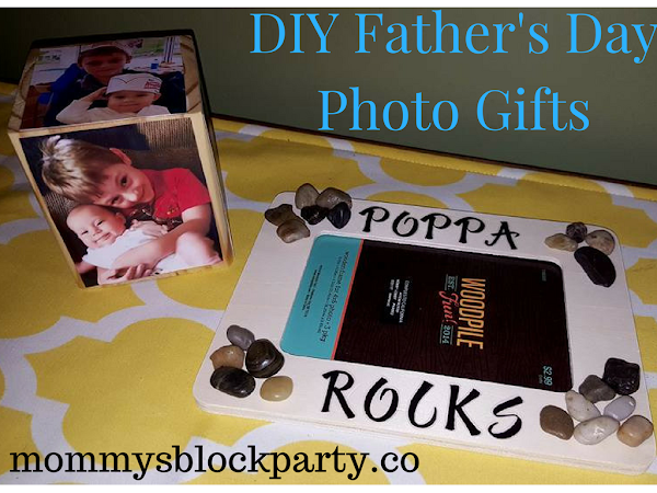 Go Green for Father's Day with These Easy DIY Father's Day Photo Gifts