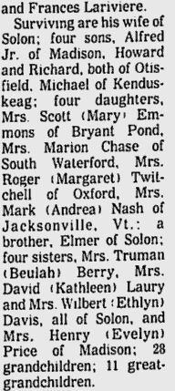 Obituary of Alfred Edward Jackson
