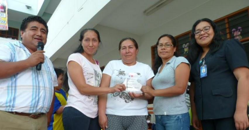 Por segundo año consecutivo el Colegio Santa Rosa 2093 del callao es reconocido por buenas prácticas alimenticias