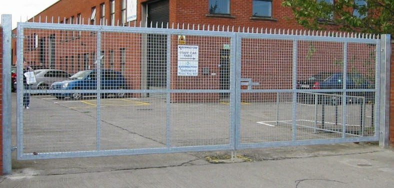 Capital Fencing Industrial Security Gates
