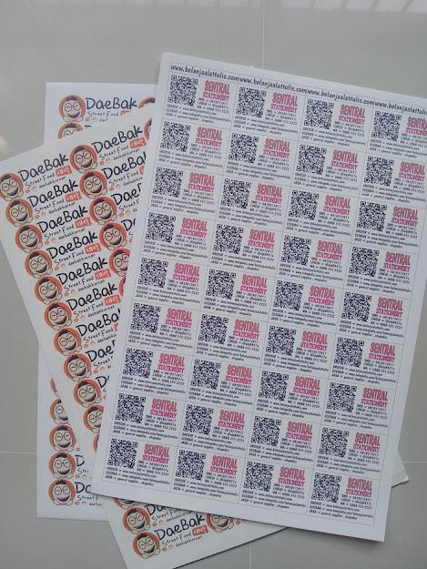 cetak stiker transparan ukuran a3+