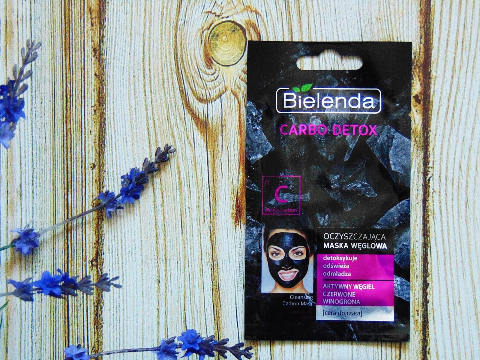Maseczka Bielenda Carbo Detox, Oczyszczająca maska węglowa