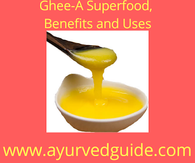 Ghee a Benefits uses in diet in winter