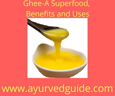 Ghee a Benefits uses in diet in winter