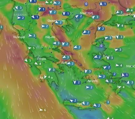 Meteo24news.gr: Υποχώρηση της ζέστης-Ενίσχυση των βοριάδων